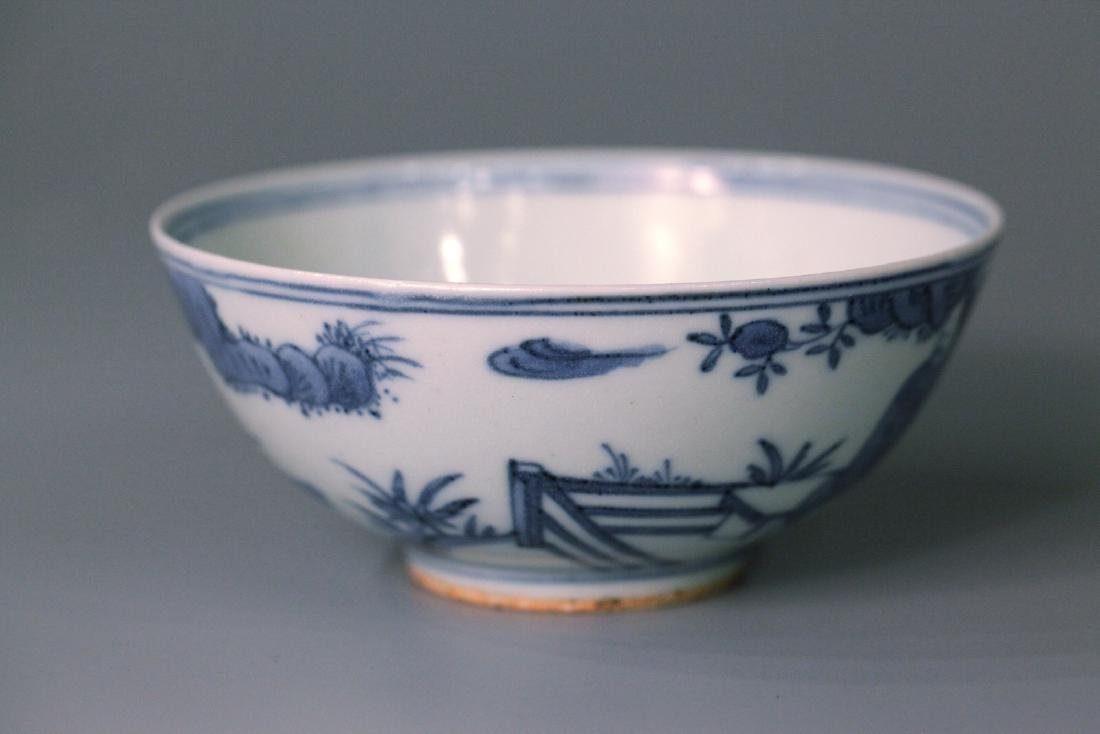 A chinese blue&white bowl