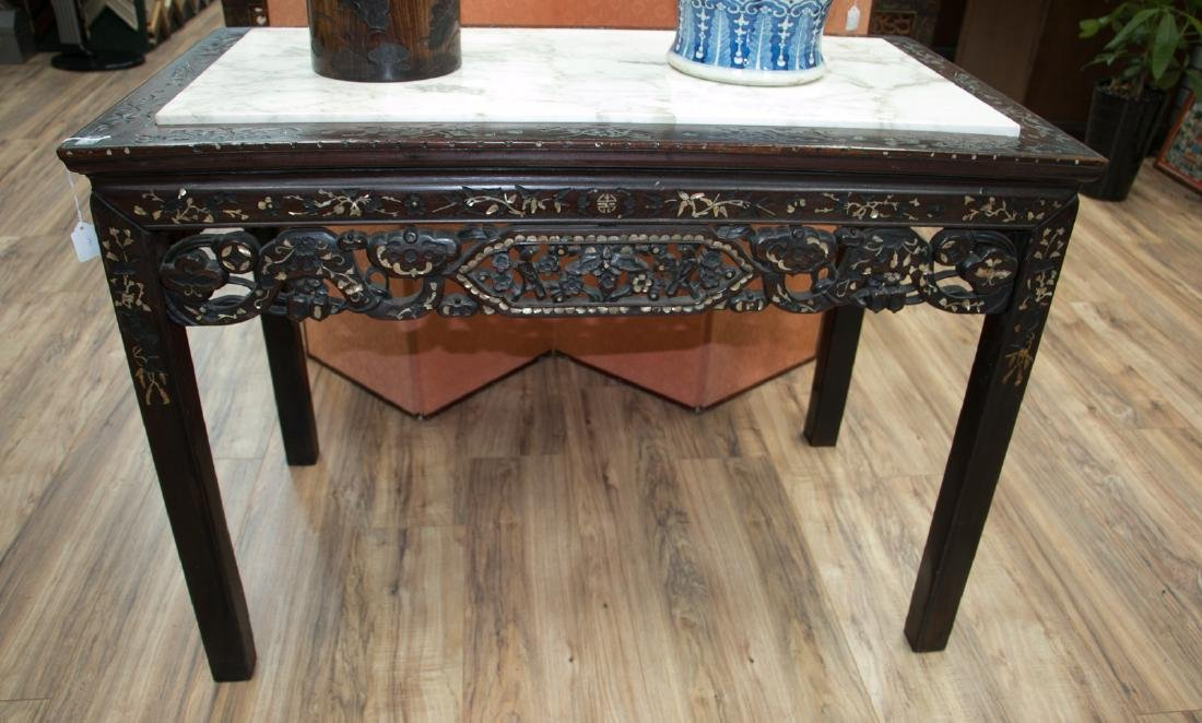 Chinese 18 century rosewood table