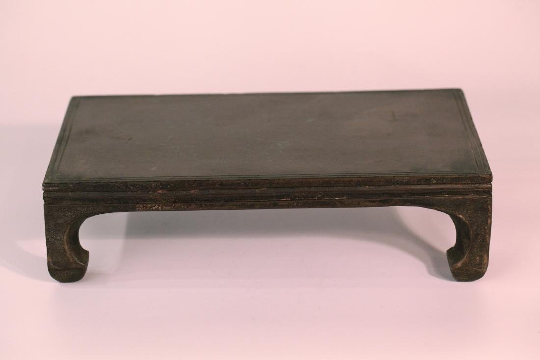A chinese stone small table