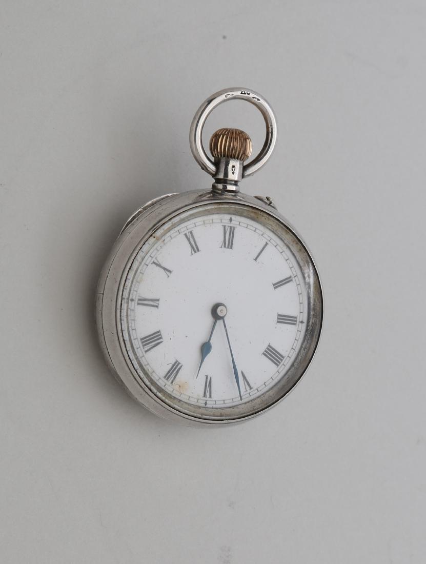 6s silver 925 pocket watch