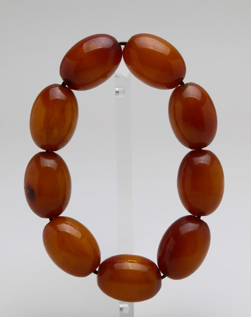 61.25g Amber bracelet