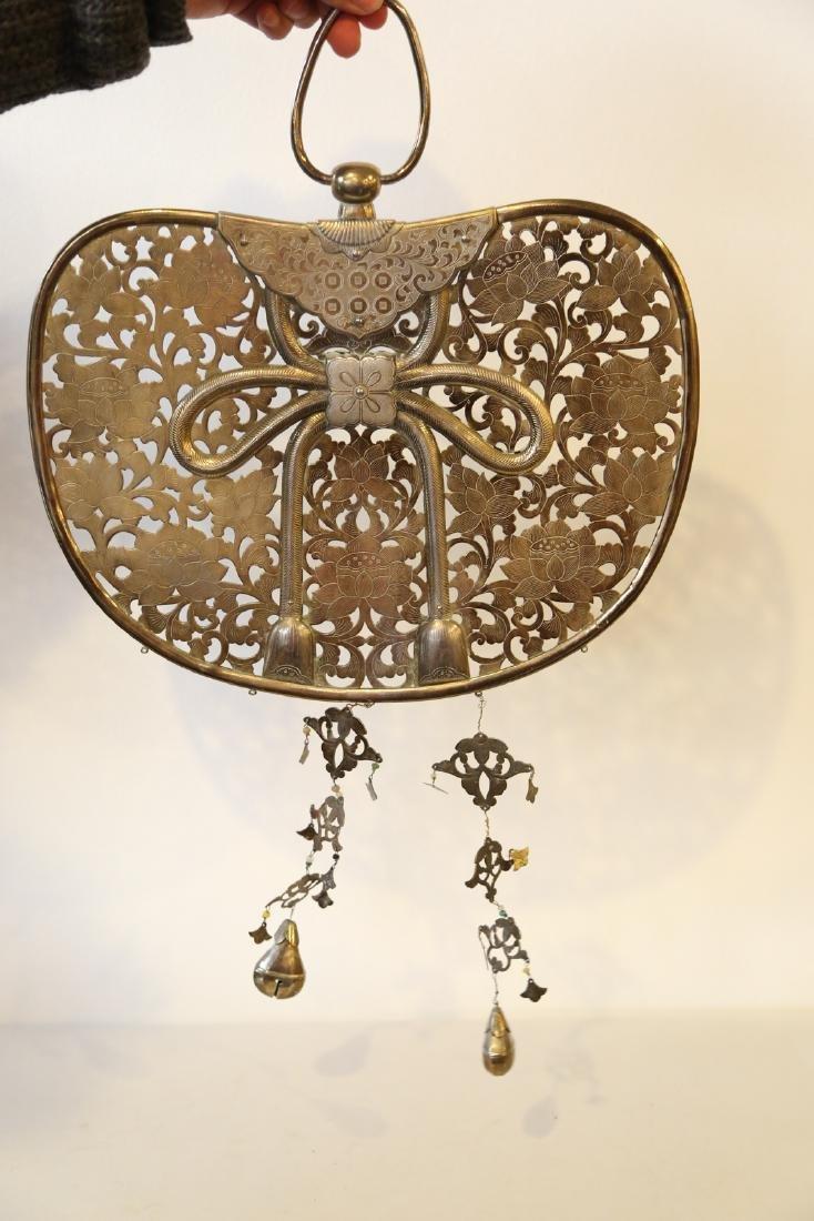 A japanese bronze pendant - 5