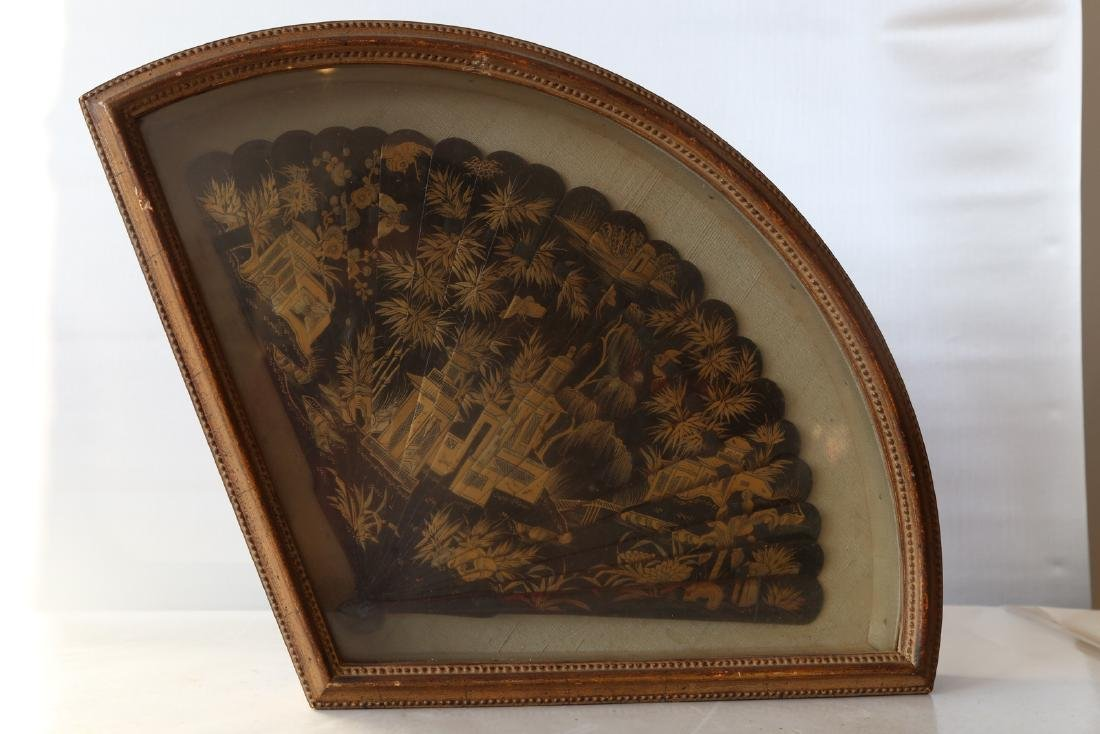 A chinese lacquer fan - 4