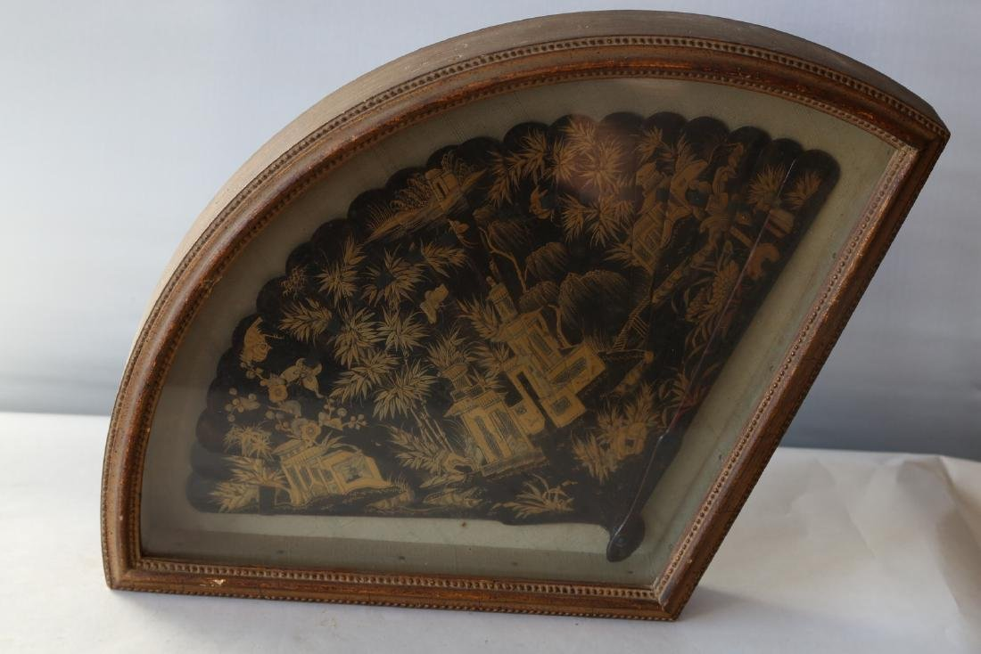 A chinese lacquer fan - 5