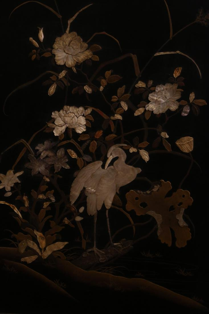 A japanese lacquer screen - 5