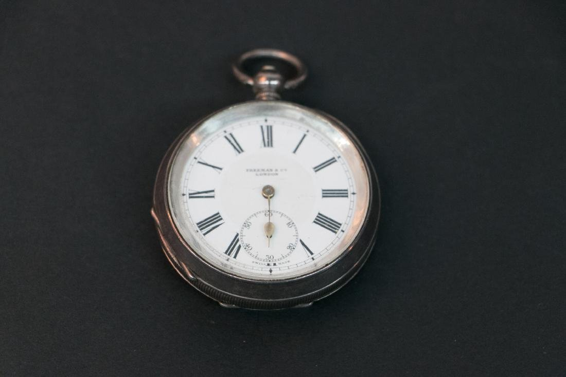 A United Kingdom silver pocket watch