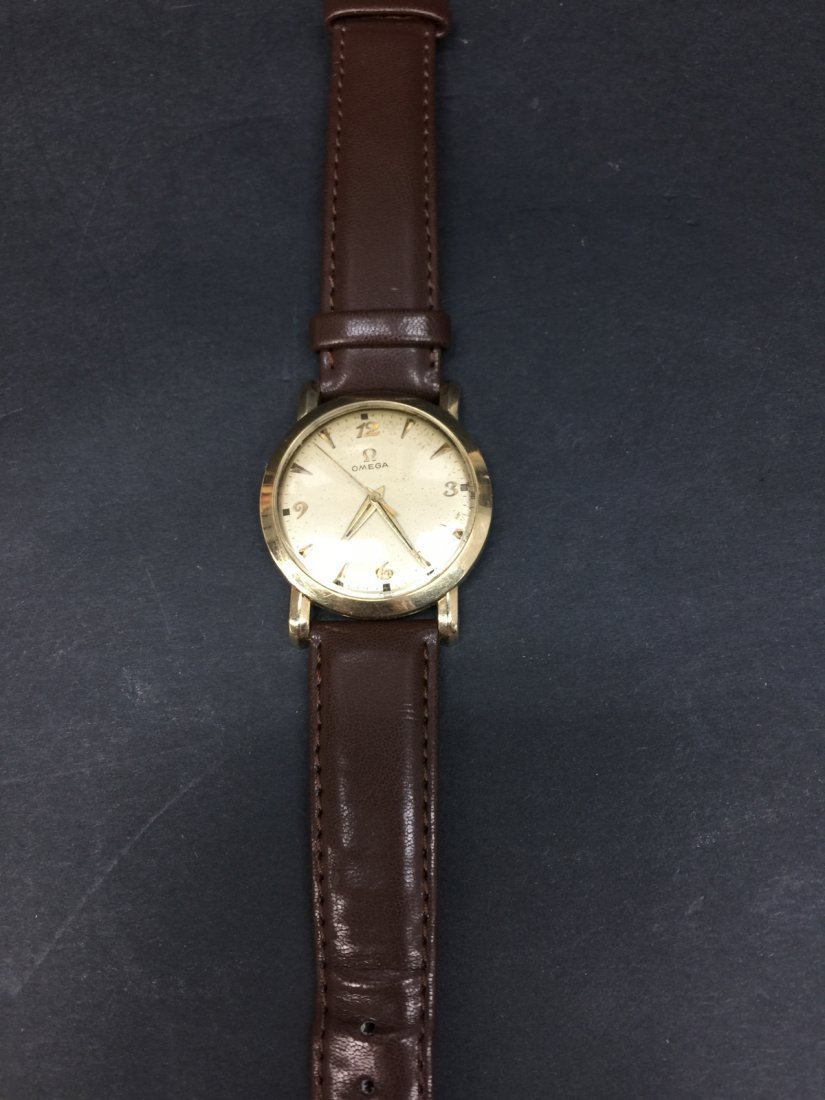 A omega 14k gold filled watch
