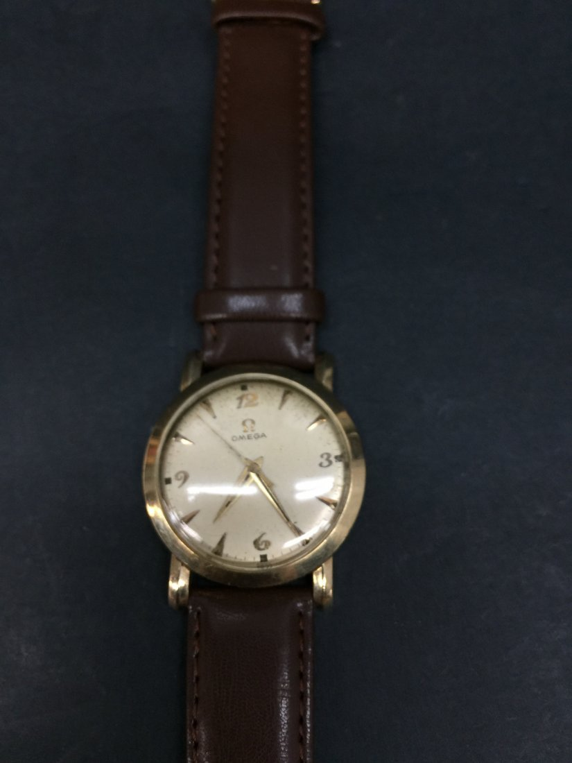 A omega 14k gold filled watch - 2