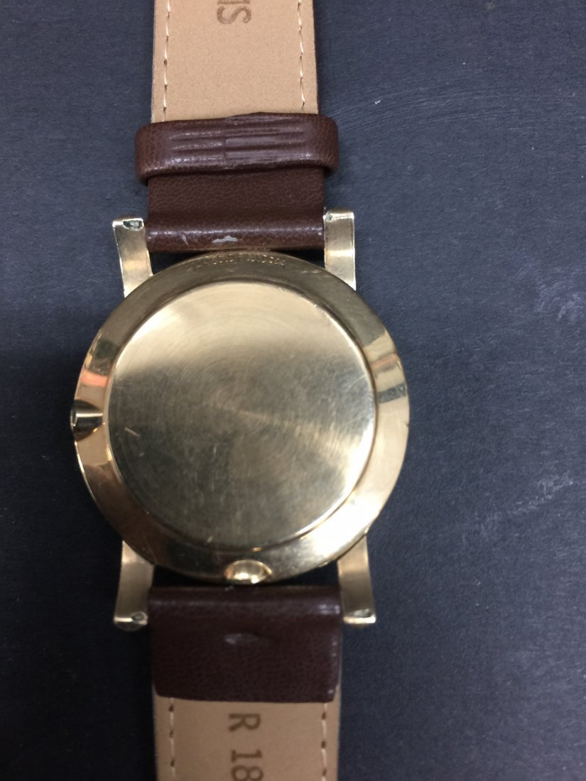 A omega 14k gold filled watch - 3