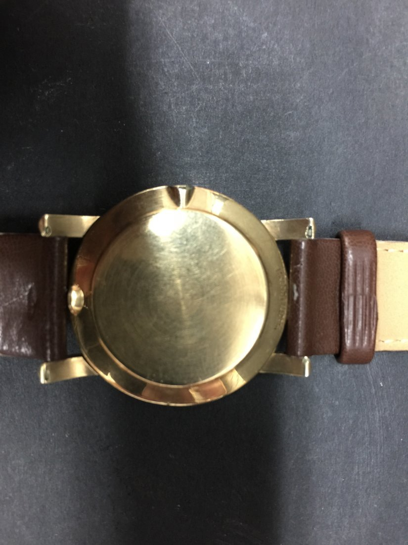 A omega 14k gold filled watch - 4