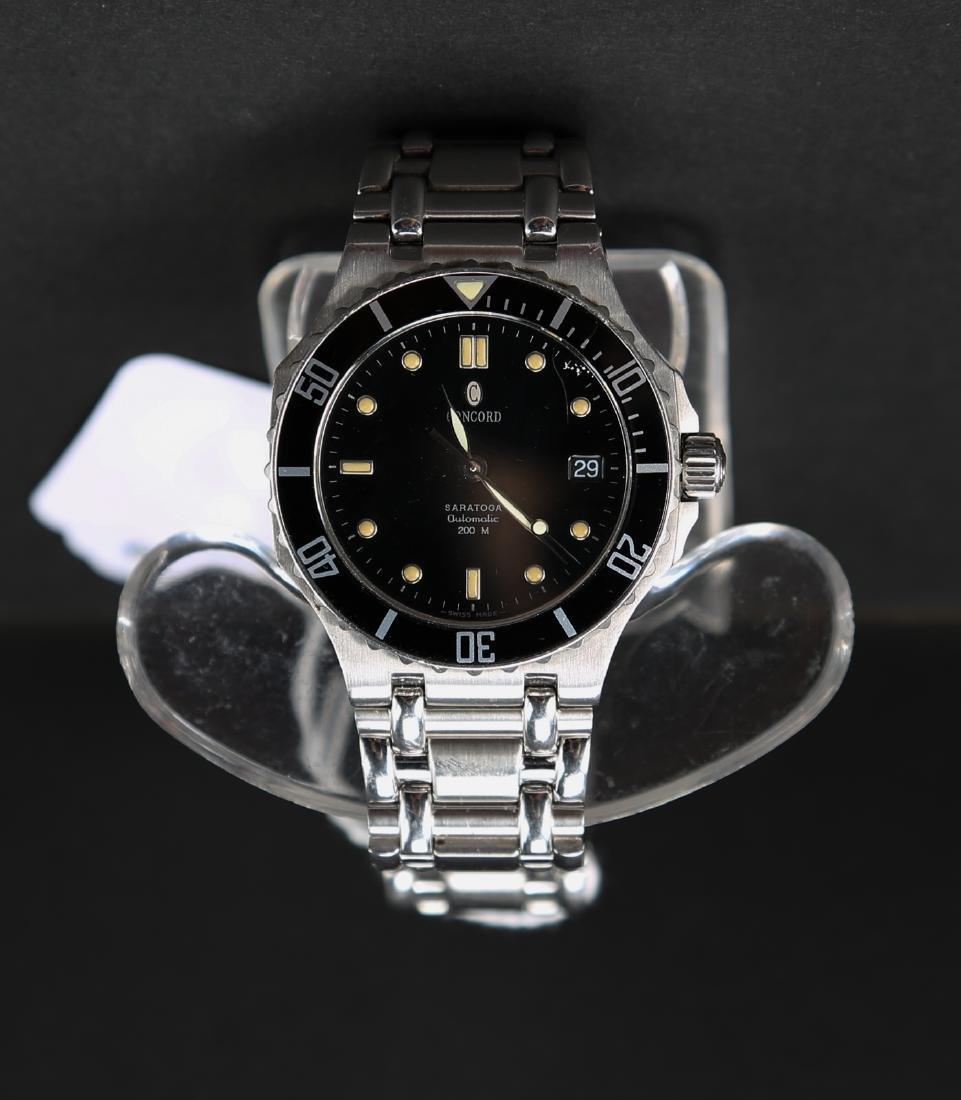 Concord steel watch