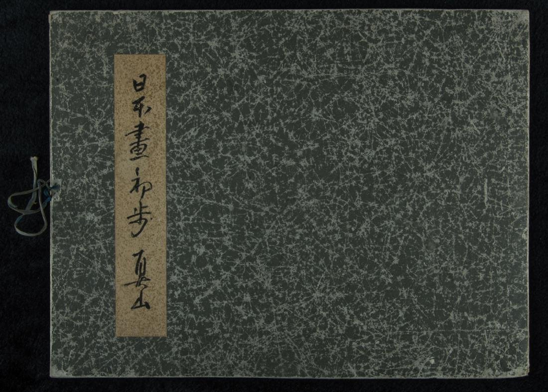 Japanese painting album