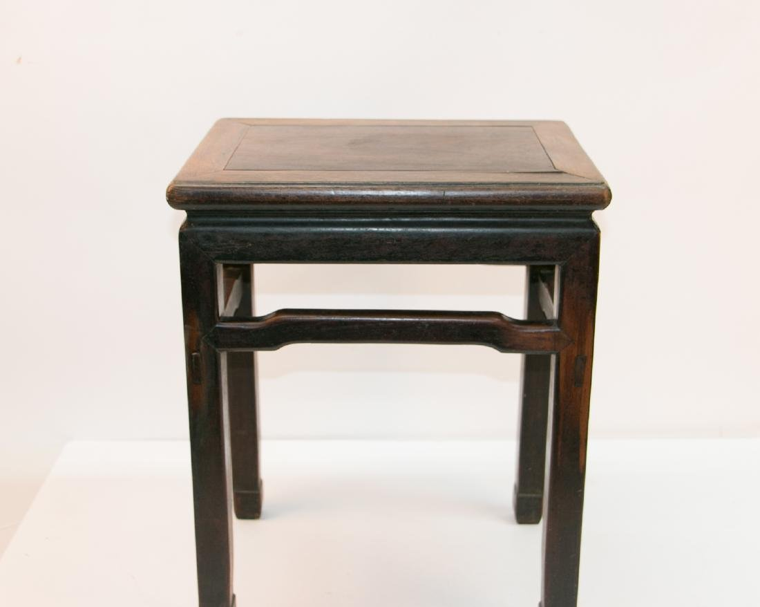 A chinese rosewood stool