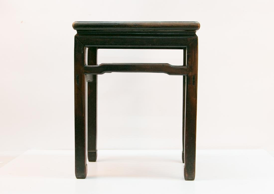 A chinese rosewood stool - 3