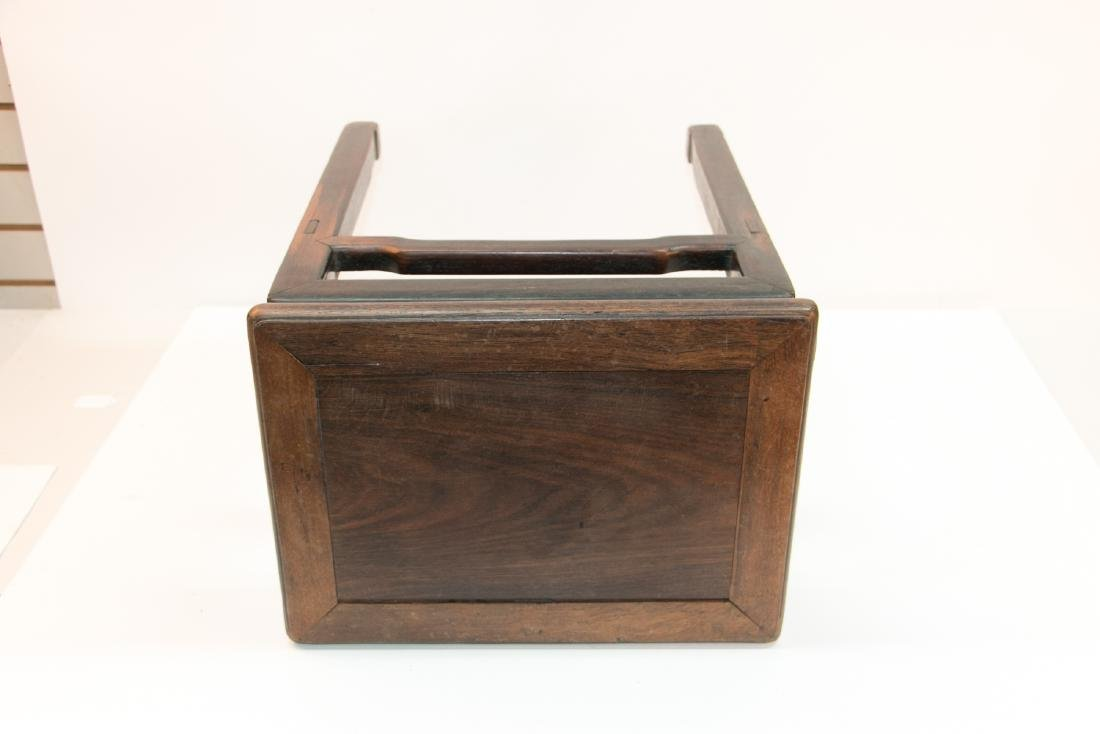 A chinese rosewood stool - 6
