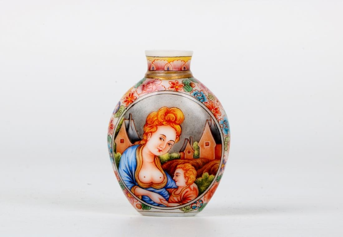 A chinese glass snuff bottle - 3