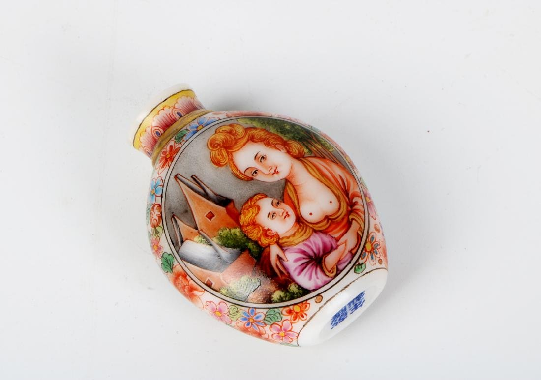 A chinese glass snuff bottle - 5