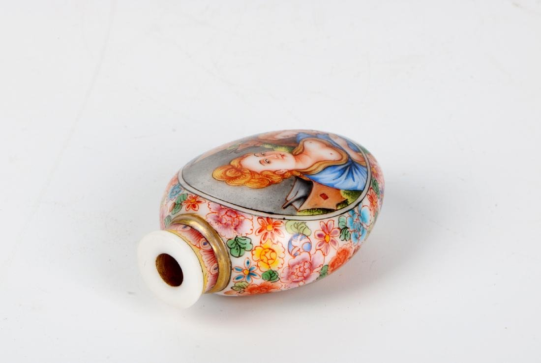 A chinese glass snuff bottle - 7