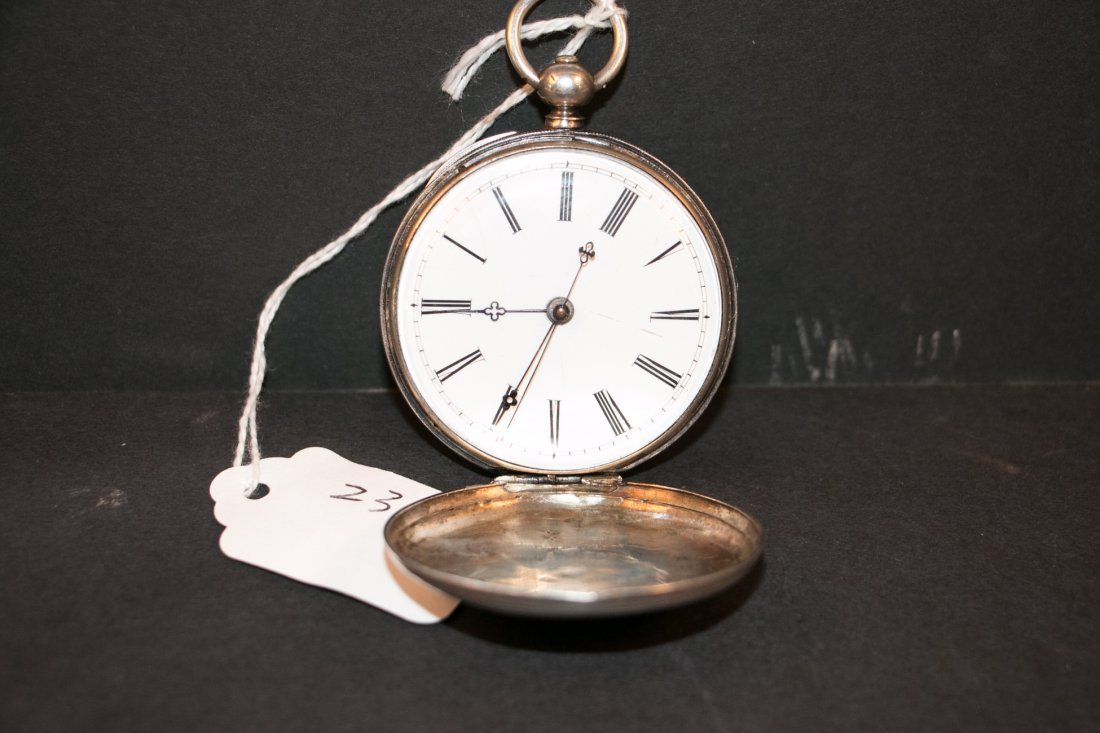 A 18c bovet duplex watch silver cas/parts or repair