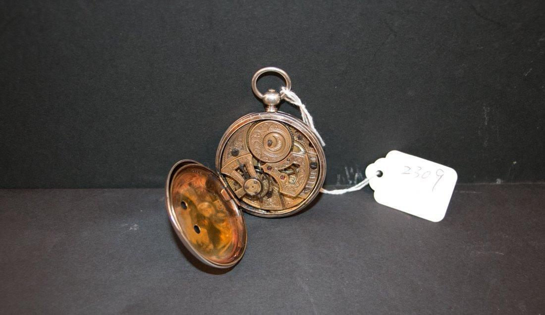 A 18c bovet duplex watch silver cas/parts or repair - 2