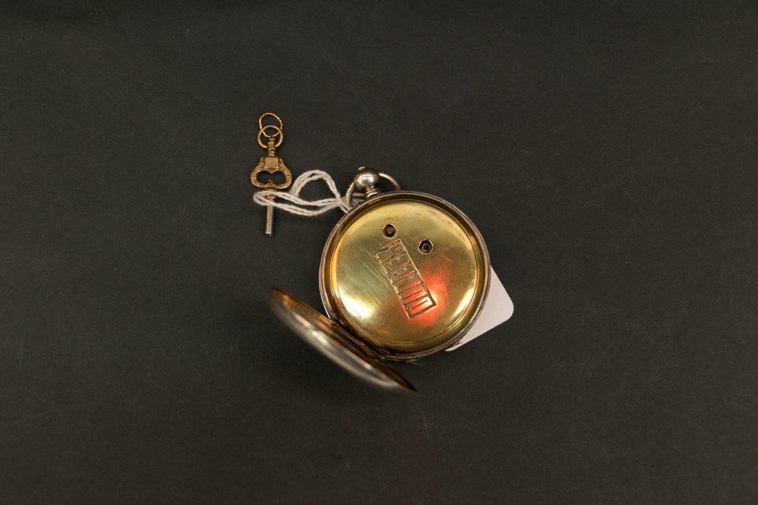 A 18c bovet duplex watch silver cas/parts or repair - 5