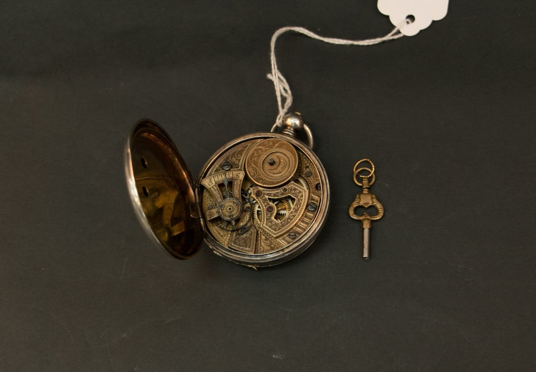 A 18c bovet duplex watch silver cas/parts or repair - 6