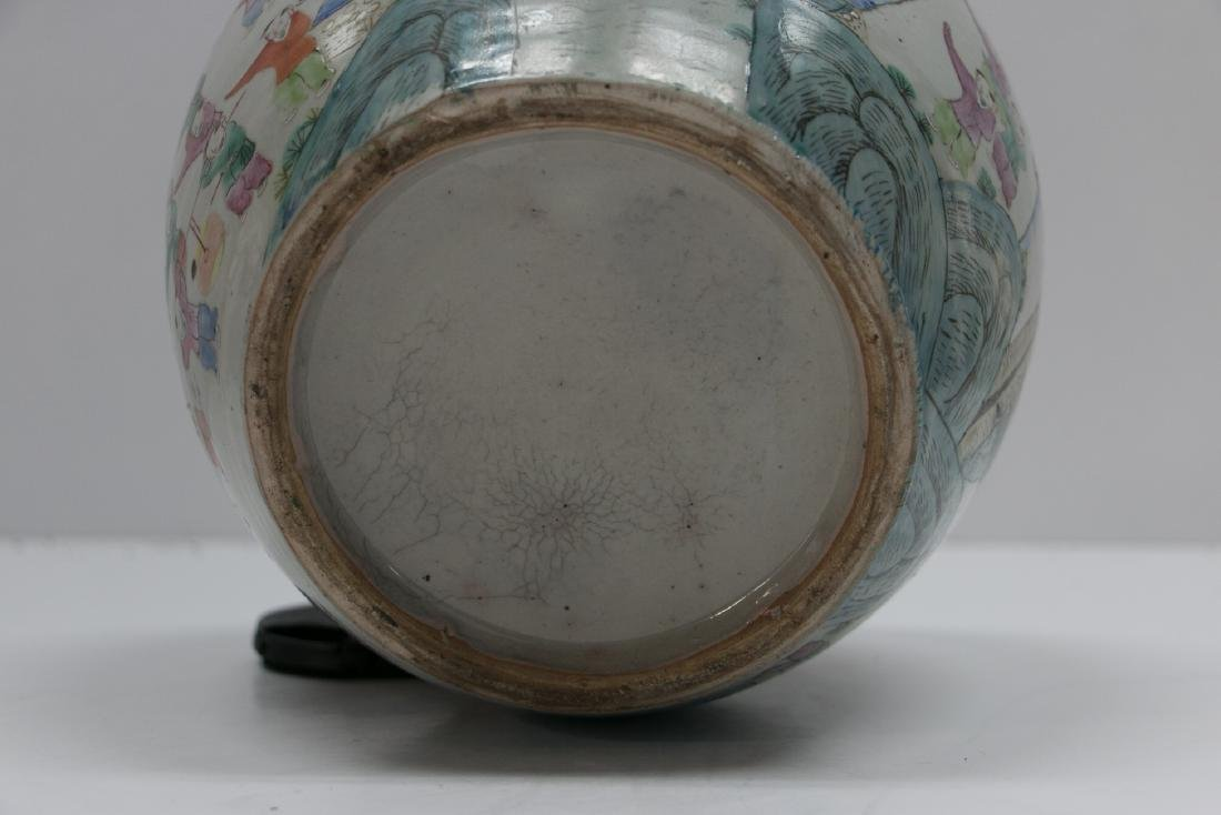 A chinese famille rose jar - 7