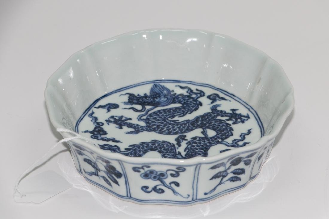 A chinese blue&white plate - 2
