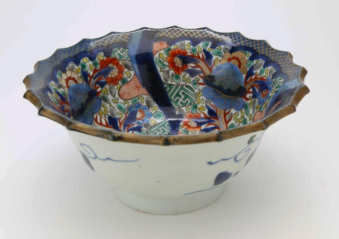 Japanese porcelain bowl - 3