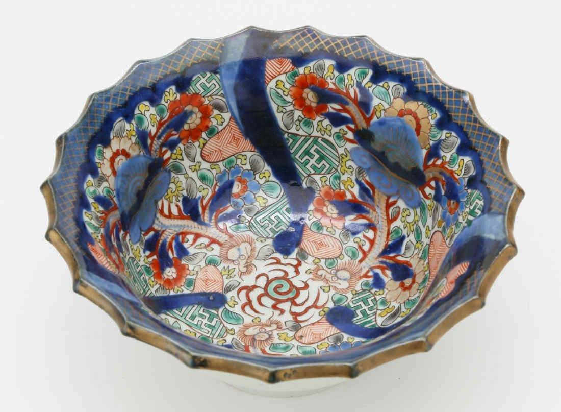 Japanese porcelain bowl - 4