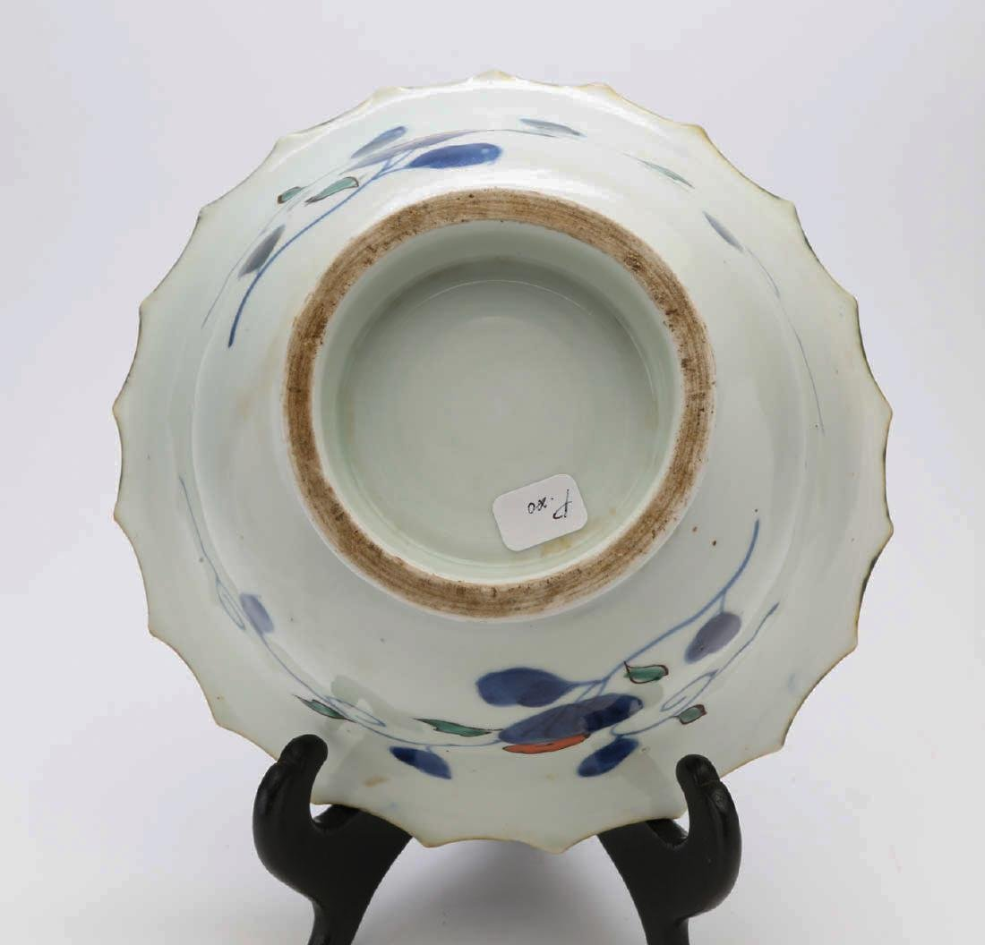 Japanese porcelain bowl - 5