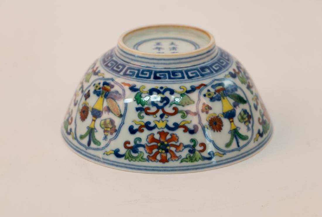 A chinese famille rose bowl - 3