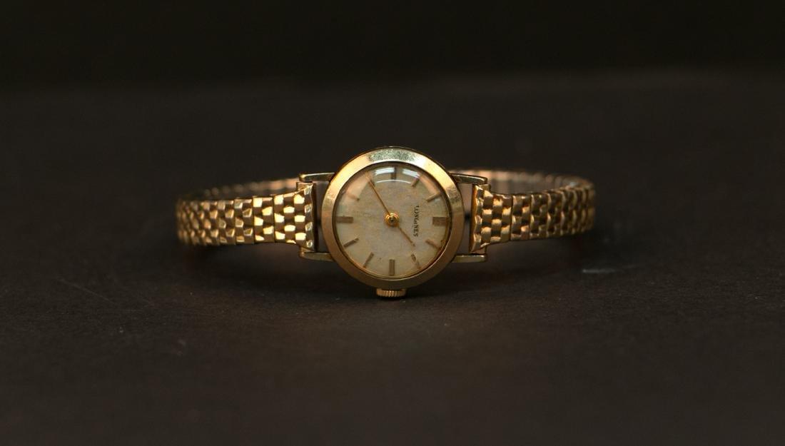 10k longines lady watch - 3
