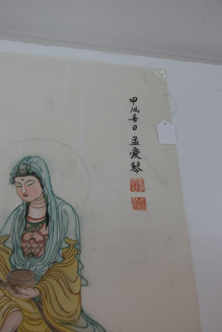A chinese painting on silke - 3
