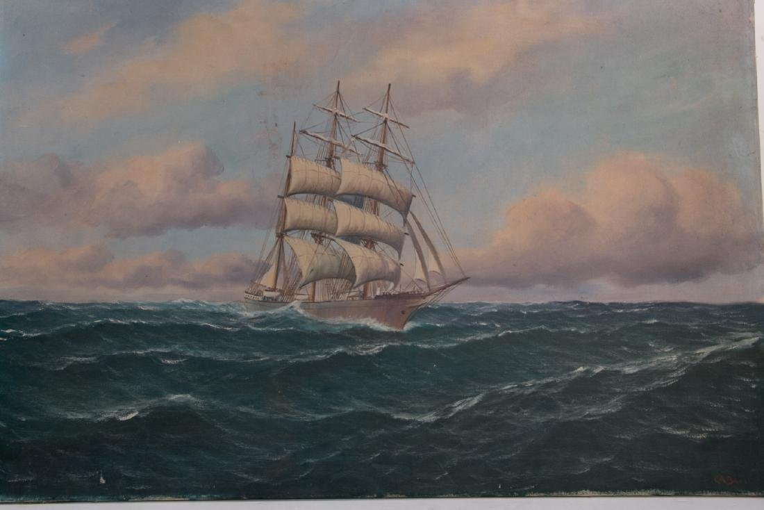 An oil painting on canvas - 2