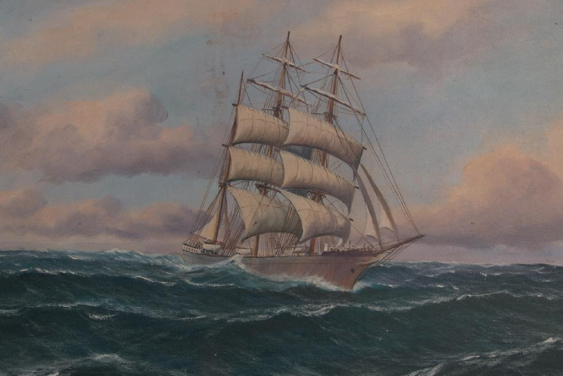 An oil painting on canvas - 3