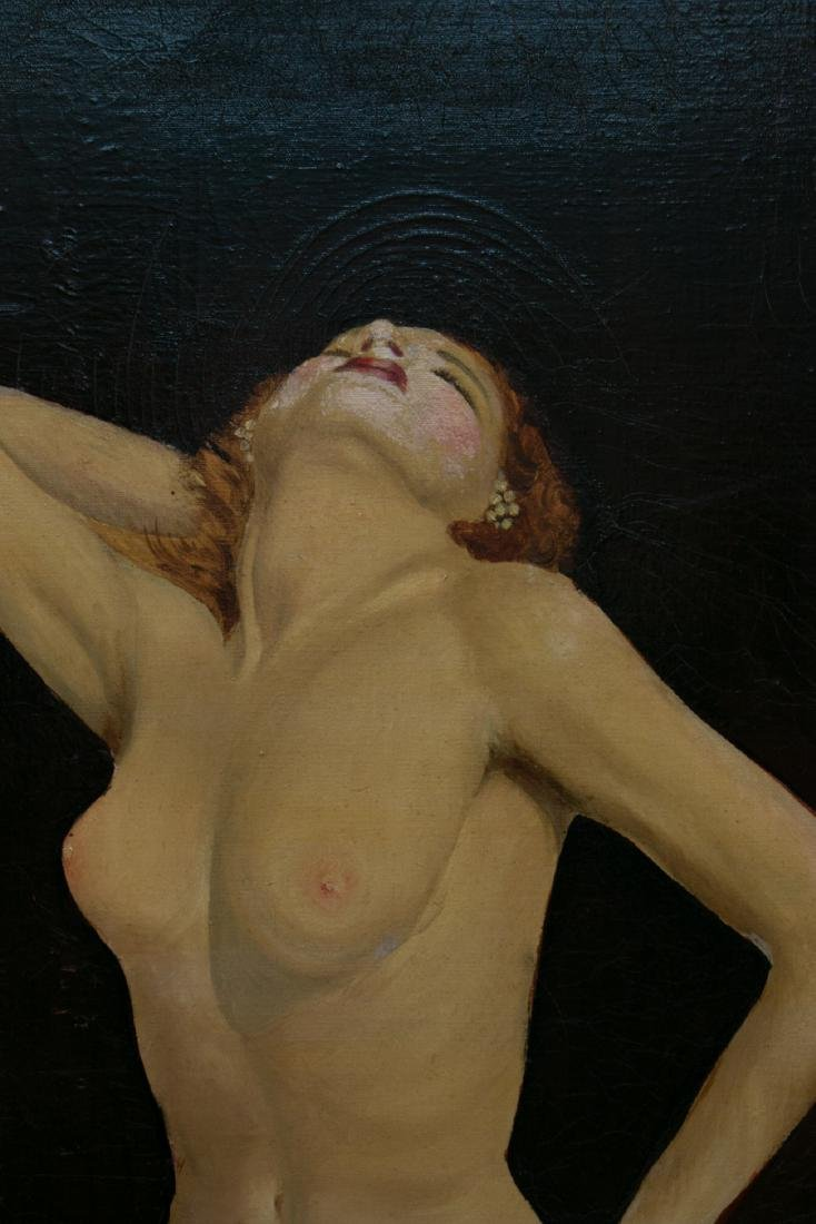 A oil painting on canvas - 3