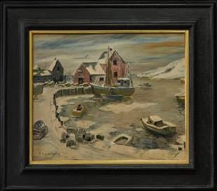 Arthur Goodwin 1864-1929 New York/MA/NH Listed Artist