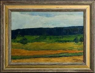 Henry Hensche (MA 1899-1992) Oil