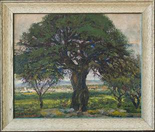 Clarence Hinkle 1880-1960 CA Listed Artist Original Oil