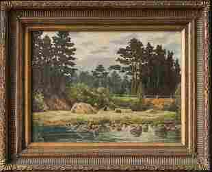 Adolphe Fenyes (Hungary1867-1945) Original Oil