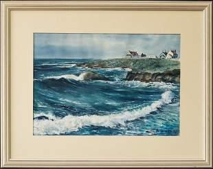 Andrew Winter (1893 - 1958) New York, Maine,
