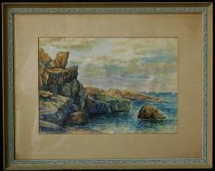 Childe Hassam ( New York, Massachusetts 1859 - 1935) |