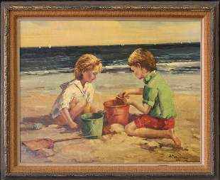 Charles Atamian 1872-1947 French/Turkey Artist Original
