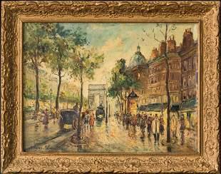 Antoine Blanchard (c.1910 - 1988) France Artist Oil