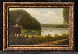 Edward Mitchell Bannister 1828 - 1901 MA/RI Listed