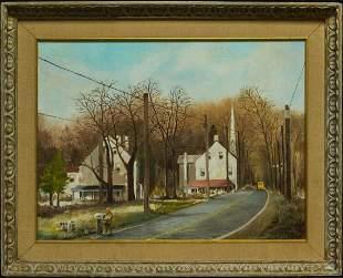 John Little (born 1928) Quebec / Canada Artist