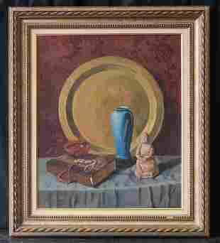 Listed California/Illinois Artist Claude Buck 1890-1974