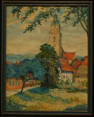 Ohio, New Mexico Artist Alice Schille (1869 - 1955)