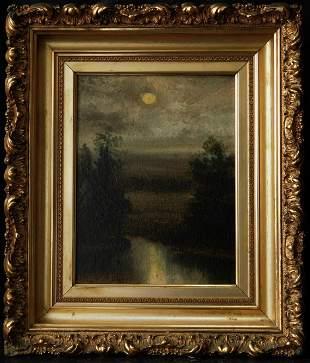 Granville Redmond (California 1871 - 1935) | Moon Light